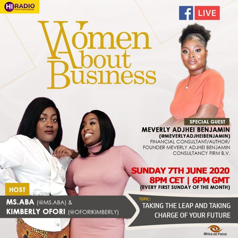 Meverly Adjhei Benjamin appears on Women about Business