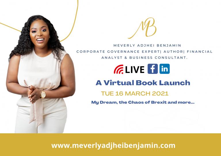 A Talk With Meverly Adjhei Benjamin (A Virtual Book Launch)